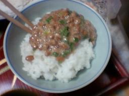 納豆ご飯!