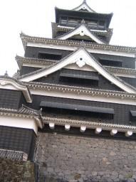 同じく熊本城天守閣!