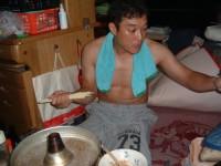 アベックラーメンの麺だけ使用