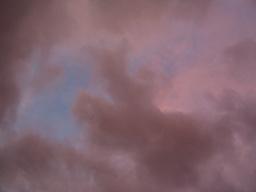 よくわからない雲