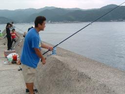 事件のあった投げ釣りの竿