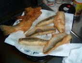 釣った魚を食べる!