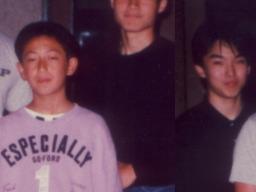 20年前の木下先生(左)と豊住君