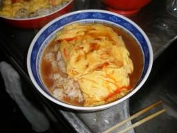 井上道場特製天津飯!