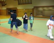 7月4日の武蔵ヶ丘道場