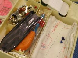 なつかしい裁縫道具の中身