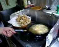 カラアゲを作る!
