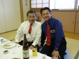 八重元先生と池田先生