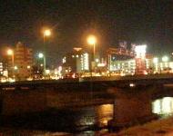 夜の代継橋
