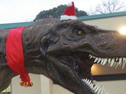クリスマス衣装なTレックス