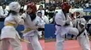 ユキコとサキ-第3回西日本武道空手道交流大会
