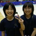 第2回統一全日本空手道選手権余話1 – ユキコとサキの応援