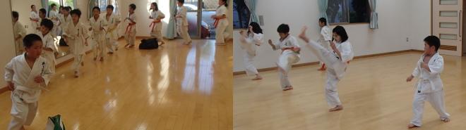 戸島教室練習風景1