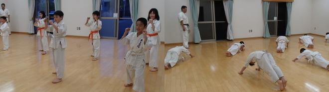 戸島教室練習風景2