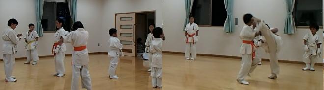 戸島教室練習風景3