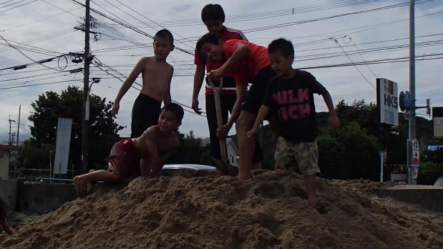 砂遊び大会