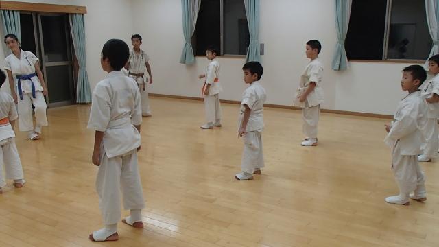 戸島教室2部クラス練習開始
