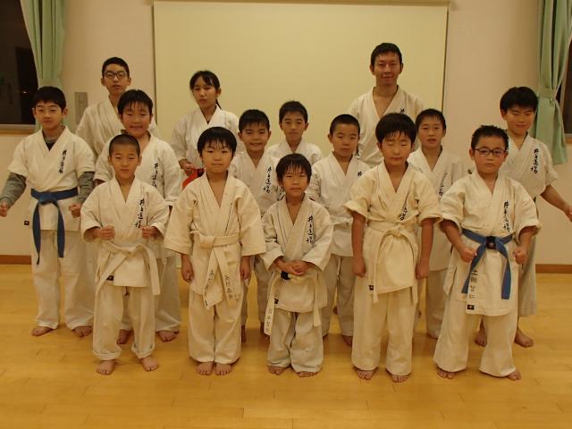2018戸島教室稽古納め1部クラス